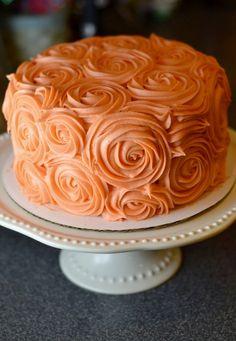 Coral Spice Cake