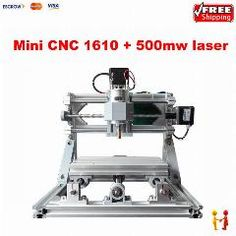 [ $47 OFF ] Diy Mini Cnc Router 1610 + 500Mw Laser Cnc Engraving Machine Grbl Control For Pcb Milling Machine Wood Carving