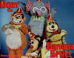 Another favorite Saturday morning cartoon show of mine from the 70's. One banana, two banana.....
