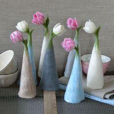 Ulrike Ay - Textile Kunst - Dekohütchen
