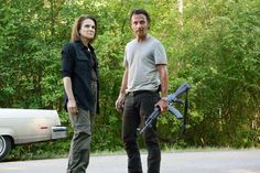 """The Walking Dead's season-six premiere is set up to make you think it is an ambitious piece of TV filmmaking.  The episode, titled """"First Time Again,"""" is constructed as a daring, somewhat complex plan to corral and contain a large number of walkers, led, of course, by Rick Grimes.  She came in the person"""