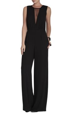 See how others are styling the BCBG Behati Sleeveless V-Neck Jumpsuit. Check if your friends own the product and find other recommended products to complete the look. Look Fashion, Fashion Beauty, Womens Fashion, Mode Monochrome, Mode Style, Dress Me Up, Passion For Fashion, Dress To Impress, Cute Outfits