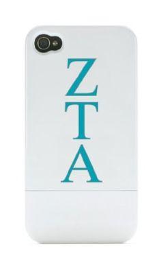 Zeta Tau Alpha iPhone 4/ 4s Dockable Case:Amazon:Cell Phones & Accessories