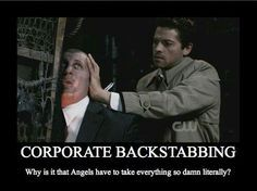 supernatural pictures funny - Google Search