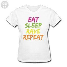 TooLoud Eat Sleep Rave Repeat Infant T-Shirt