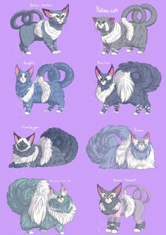 12 Awesome Pokemon Variations That Will Change The Way You Think About The Pocket Monsters Cat Pokemon, Pokemon Breeds, Pokemon Pins, Pokemon Comics, Pokemon Fan Art, Eevee Evolutions, Original Pokemon, Curious Creatures, Pokemon Fusion