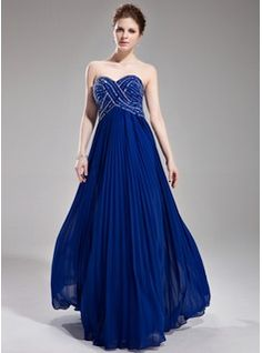 Prom Dresses - $162.99 - A-Line/Princess Sweetheart Floor-Length Chiffon Prom Dress With Beading Sequins Pleated  http://www.dressfirst.com/A-Line-Princess-Sweetheart-Floor-Length-Chiffon-Prom-Dress-With-Beading-Sequins-Pleated-018004801-g4801