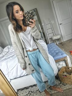 cda896811e Best loungewear and pajamas in Nordstrom Anniversary Sale Public Access Lounge  Pants Outfit