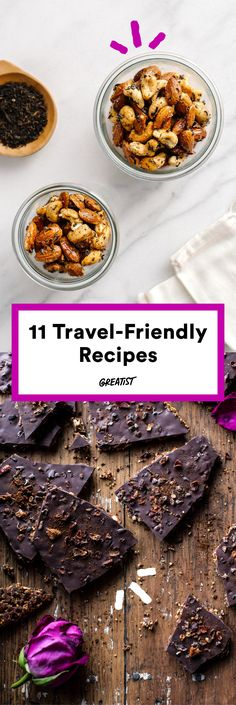 For a seven-hour car ride or a 2 a.m. layover. #healthy #travel #snacks http://greatist.com/eat/healthy-snack-recipes-to-take-on-vacation