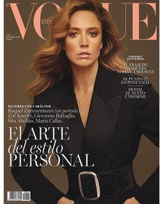 Raquel Zimmermann for Vogue Spain November 2017 | Art8amby's Blog