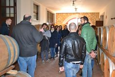 Guided tour in ou cellar: it is so nice to explain how to get a good Amarone, Recioto, ripasso or Valpolicella! :) www.AmaroneValpolicella.org