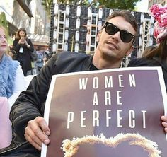 James Franco at Women's March