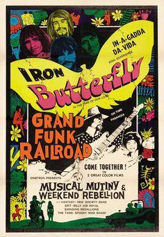 Iron Butterfly & Grand Funk Railroad