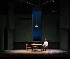 The Pillowman. Set Design Theatre, Prop Design, Stage Design, Theatre Of The Absurd, Stage Set, Scenic Design, Elements Of Design, Stage Lighting, Staging