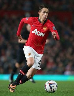 Adnan Januzaj of Manchester United. This kid is going places.