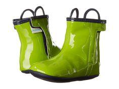 Robeez City Slicker Rainboot Mini Shoez (Infant/Toddler) Macaw Green - Zappos.com Free Shipping BOTH Ways