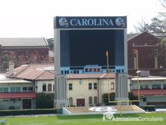 unc stadium scoreboard