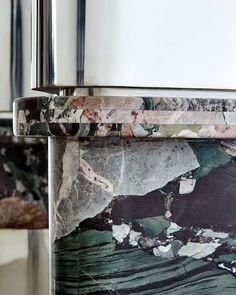 Vincenzo De Cotiis /. Marble detail Desk. 2017
