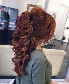 Half up half down hairstyle ideas,