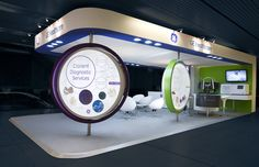 Exhibit booth www.tamooz.net @tamoozcg #Tamooz #booth #exhibitdesign #exhibit #design @tamooz_communications_group
