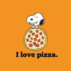 Nós te entendemos Snoopy... Como algo pode ser tão gostoso assim? Rs  Ainda bem que pelo FomeDemais.com dá para encontrar as melhores Pizzarias da cidade com apenas alguns cliques. :D  #FomeDemais #Pizza #Delivery