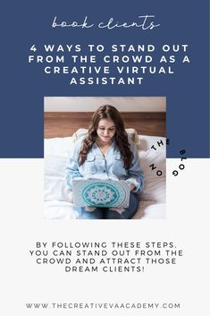 The virtual assistant business is growing - which means more competition! Learn easy ways to stand out from the crowd and attract those dream clients!   The Creative VA Academy #virtualassistant #creativevirtualassistant #creativeva #workfromhome #marketingtips Any Job, Free Facebook, Wedding Advice, What You Can Do, Virtual Assistant, Social Media Tips, Master Class, Ava, Crowd
