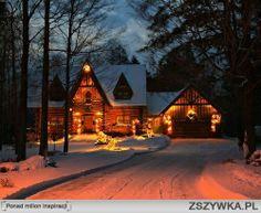 jaki piękny domek <3