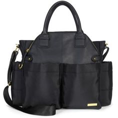 Chelsea Downtown Chic Diaper Bag  - Our runway-inspired bag has insulated side pockets to perfectly fit bottles, sippy cups and snacks, too. This day-to-dinner design also features a front compartment that flips down for a second look.