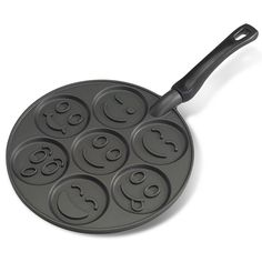 Amazon.com: Nordic Ware Smiley Face Pancake Pan: Kitchen & Dining
