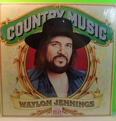 WAYLON JENNINGS Time-Life Country Music Sealed 1981 Record Album- Vintage  #CowboyCountryOutlawCountry