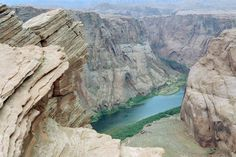 The Colorado River Overlook in Page, Arizona  ~   Page is in north central Arizona on the Utah border. Page is where Glen Canyon Dam and Lake Powell are located.