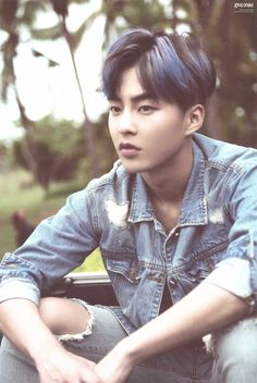 SCAN #Xiumin #EXO Dear Happiness #Photobook