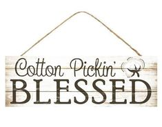 x Cotton Pickin' Blessed. This would be so cute with some cotton decor and cute farmhouse ribbon! Beige and Cream wreath sign with cotton, you for shopping at Wayside Whimsy, please favorite our shop to see all of our new items! Metal Signs, Wooden Signs, Blessed Sign, Cotton Decor, Wreath Supplies, Script Lettering, Sign Quotes, Wall Hanger, How To Make Wreaths