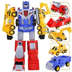 20 Best Selling Toy Robots for Kids | Widest.co.uk Robots For Kids, Toys For Boys, Games For Kids, Kids Toys, Boy Toys, Transformer Construction, 4 Year Old Boy, Robot Action Figures, Transformers Toys