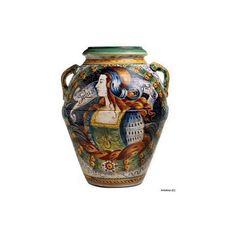 Artistica - Italian Ceramics, Deruta and Vietri Dinnerware. ($1,178) ❤ liked on Polyvore featuring home and kitchen & dining