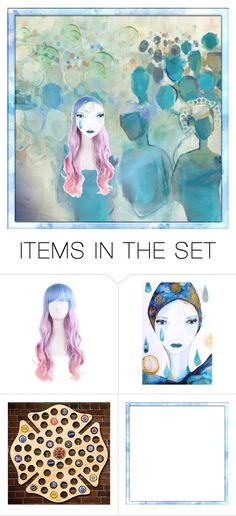 """""""One idea"""" by elyeyer ❤ liked on Polyvore featuring art"""