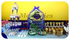 Mesa de dulces y postres primera comunion!