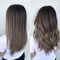 Long Wavy Ash-Brown Balayage - 20 Light Brown Hair Color Ideas for Your New Look - The Trending Hairstyle Rich Brown Hair, Brown Hair Shades, Brown Hair Colors, Cool Tone Brown Hair, Light Ashy Brown Hair, Fall Hair Colors, Ombre Hair Color, Hair Color Balayage, Ash Brown Hair Balayage