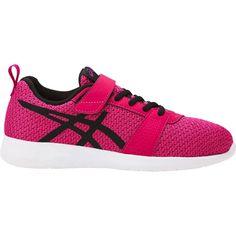 Pink//White NIB! Kid/'s Asics School Yard TS Flower Running Shoes