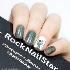 Трафареты RockNailStar Трафарет Север - купить с доставкой по Москве, CПб и всей России.