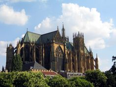 Metz Cathedral, Metz, France