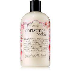 Christmas Cookie Shampoo, Shower Gel & Bubble Bath