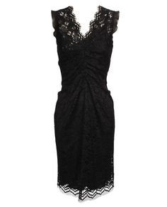 *DOLCE & GABBANA  Floral lace dress with silk lining *