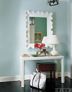 console table layout
