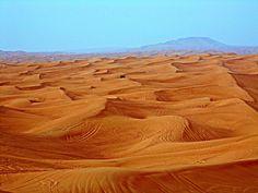 Desert in Dubai by Péter Antal Vincze