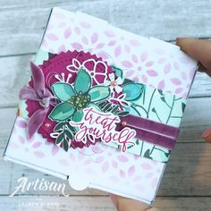 Stampin' Up! Share What You Love Gift Box