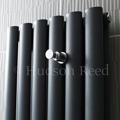 Chrome towel hook for your designer radiator.