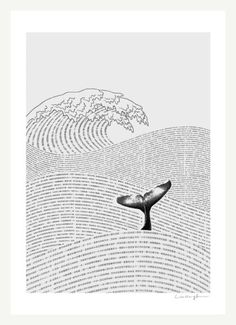 whale in a sea of words