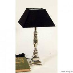 PR Interiors Vernikkelde lamp Metaal Nikkel 38H