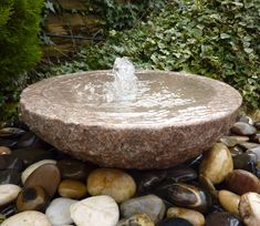 Code: our Water Features come complete with reservoir and water pump kit.Code: our Water Features come complete wi. Stone Water Features, Outdoor Water Features, Water Features In The Garden, Garden Features, Garden Water Fountains, Stone Fountains, Water Garden, Garden Ponds, Water Pond
